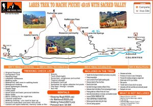 Lares Trek to machu picchu 4 days sam travel peru hiking