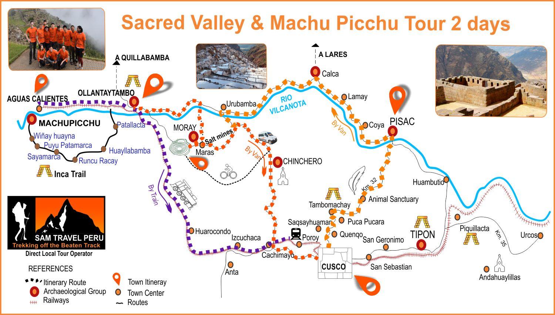 Sacred Valley & Machu Picchu Tour 2 days