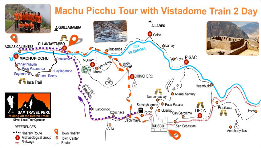 Machu Picchu Tour with Vistadome Train 2 Day