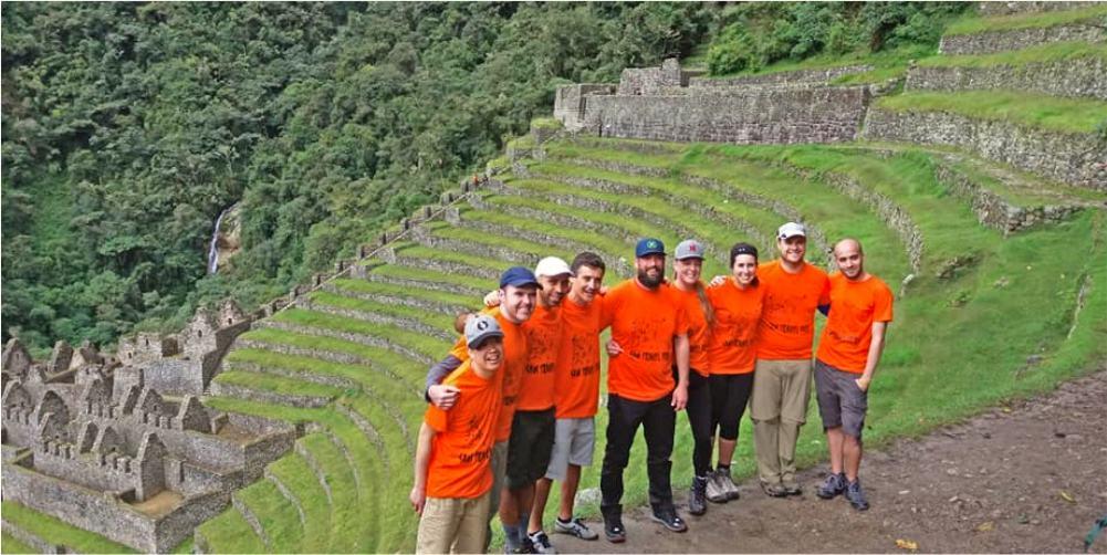 wiñay huayna sam travel peru short inca trail 2 days