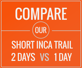 short inca trail2 days vs 1 day