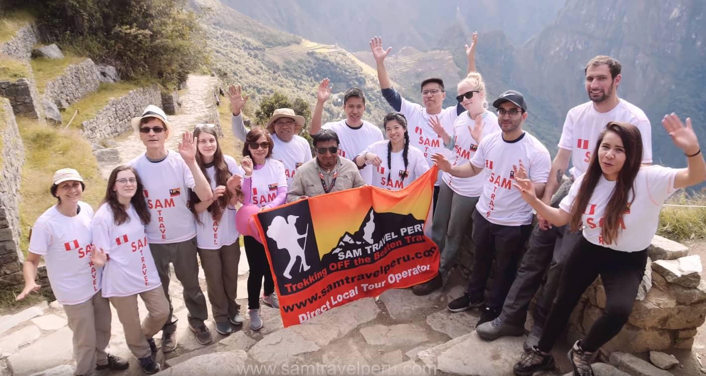 inca trail permits - sam travel peru