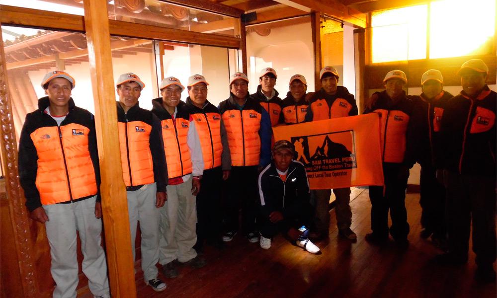 Inca trail porters accommodation